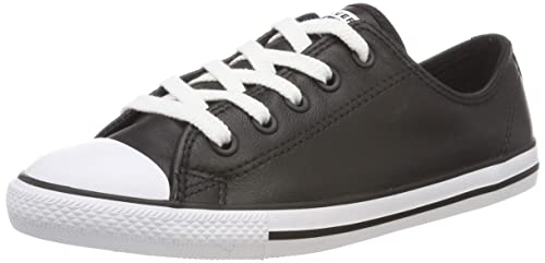 Converse CT Dainty Ox Blk, Baskets Slip-on Femme