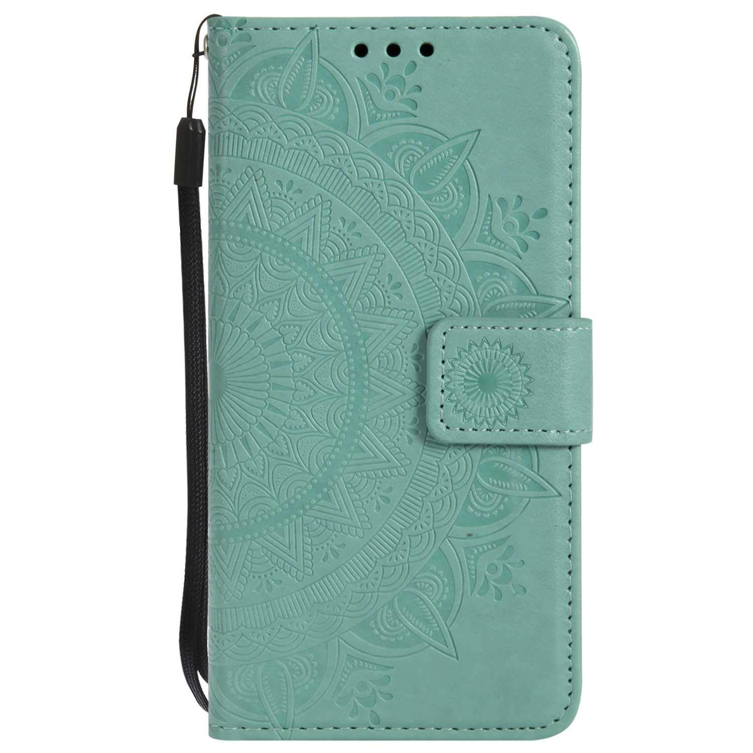 iPhone 7 8 Case, The Grafu Leather Case, Premium Wallet Case with [Card Slots] [Kickstand Function] Flip Notebook Cover for Apple iPhone 7/8, Green