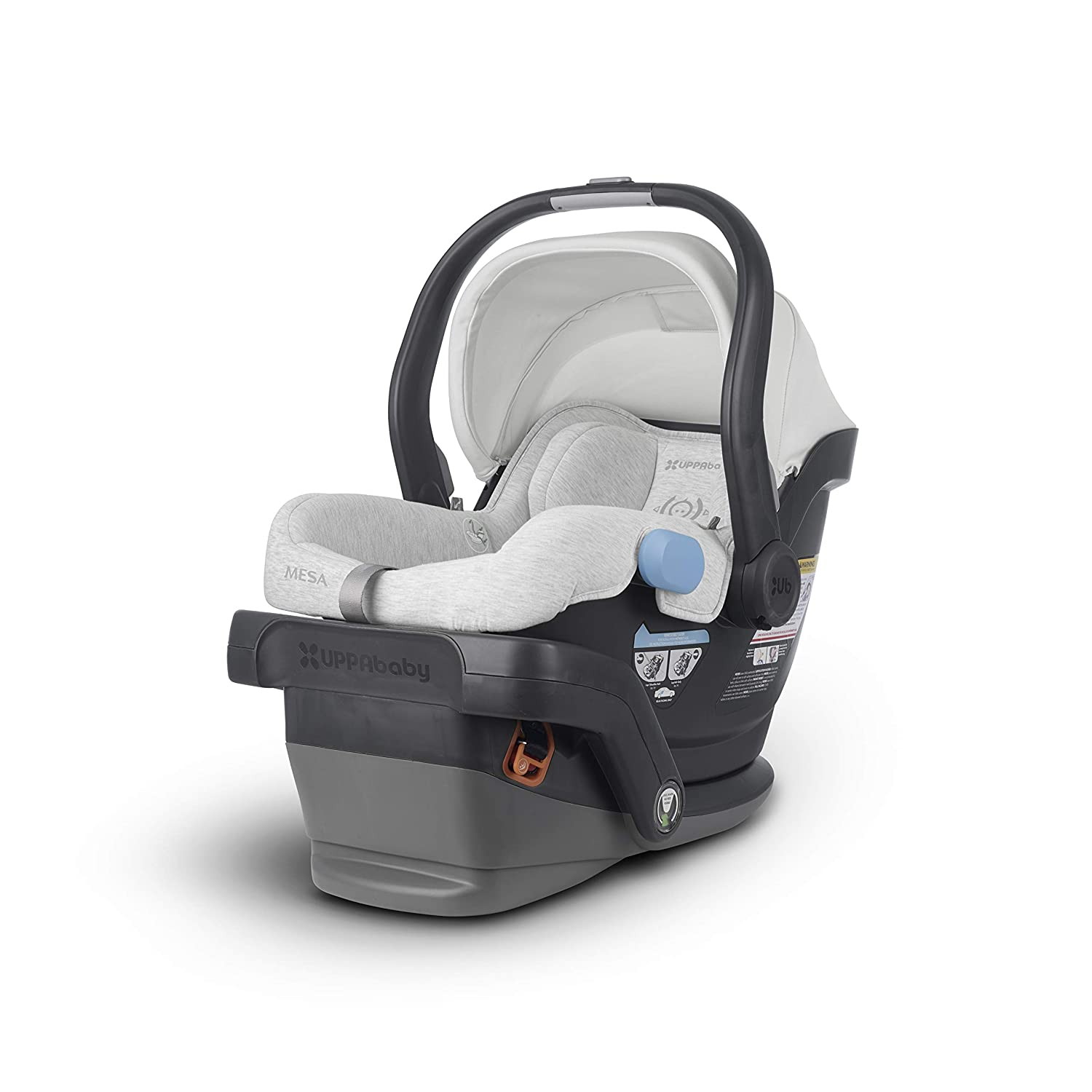 Uppababy Mesa Infant Car Seat Bryce White Grey Marl Standard