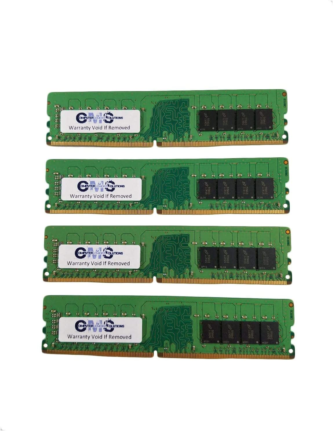 64GB (4X16GB) Memory Ram Compatible with Acer Veriton M Series M4660G, Veriton M Series VM6660G, Veriton X Series X4660G, Veriton X Series X6660G by CMS d56