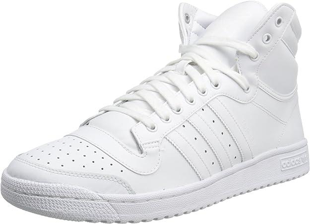 Zapato Adidas Originals Top Ten Hola baloncesto, blanco / rojo / azul, 8 M US: ADIDAS: Amazon.es: Zapatos y complementos