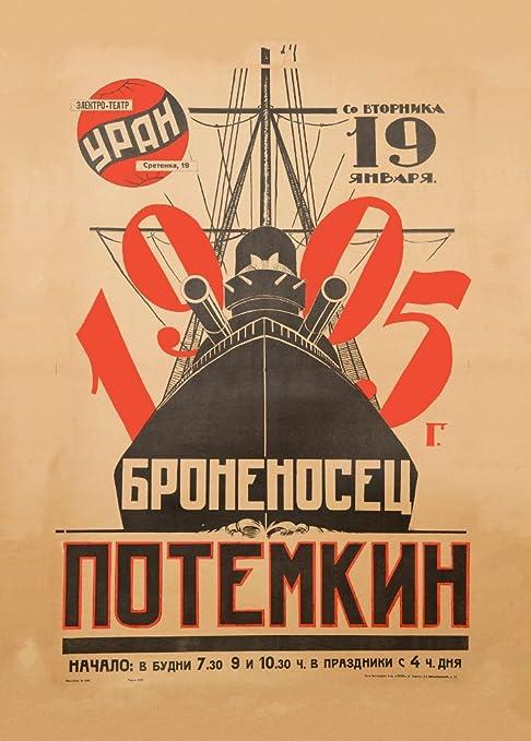 Vintage constructivismo acorazado POTEMKIN c1925 ruso Unión ...