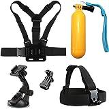 SHOOT Action Camera Accessories Kit for GoPro Hero 7/6/5/4/3/2 GoPro Hero Session SJCAM AKASO Apeman Yi WiMiUS Sony Sports Camera