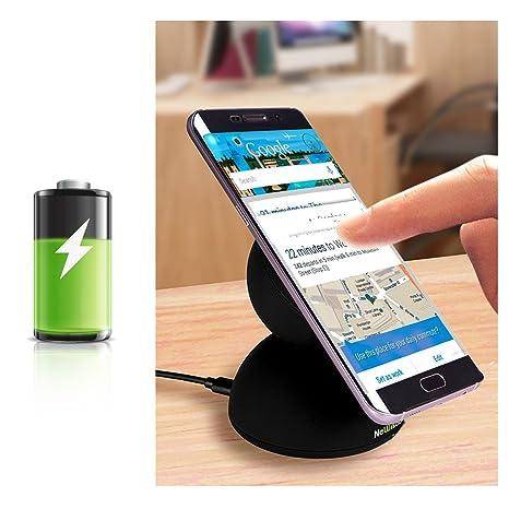 NeWisdom Galaxy S7 Serie Casos y Cargador inalámbrico ...