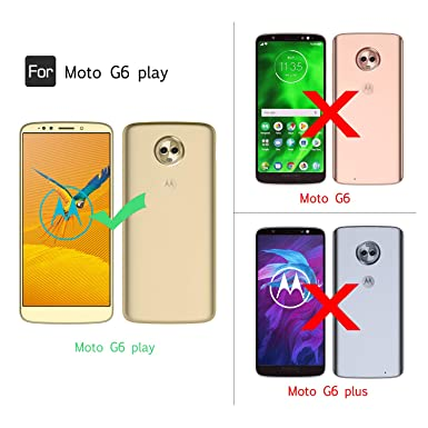 Moto G6 Play Case, Moto G6Forge case with Tempered Glass Screen Protector [2 Pack] for Girls Women,LeYi Glitter Bling Dual Layer Hybrid Phone for ...