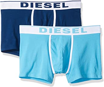 Diesel UMBX-DAMIENTWOPACK, Calzoncillo para Hombre, Pack de 2