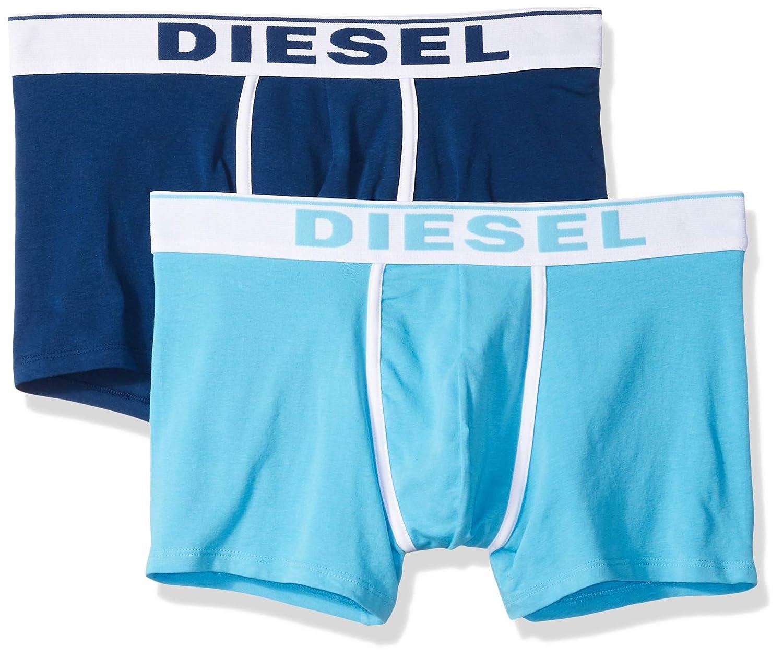 TALLA M. Diesel UMBX-DAMIENTWOPACK, Calzoncillo para Hombre, Pack de 2