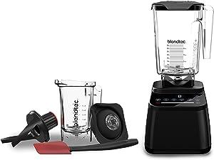 Blendtec Designer 650 with Wildside+ Jar and Twister Jar Bundle Countertop Blender, Black Bundle