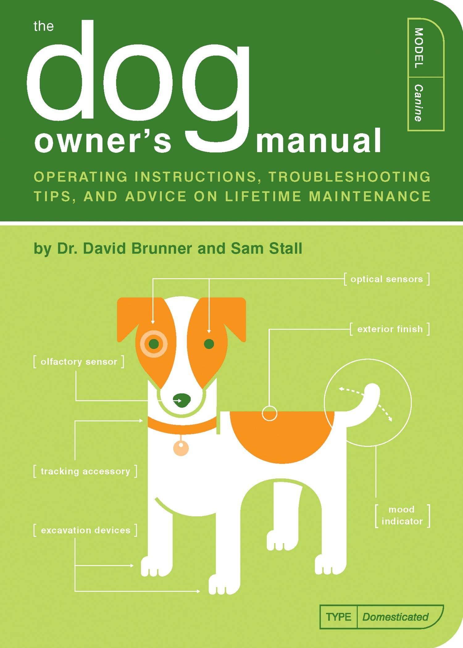 The Dog Owner's Manual: Operating Instructions, Troubleshooting Tips, and  Advice on Lifetime Maintenance: David Brunner, Sam Stall, Jude Buffum: ...