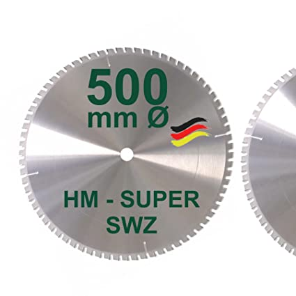 Extrem HM Kreissägeblatt 500 x 30 Z= 72 SWZ SUPER nagelfest Sägeblatt QS72