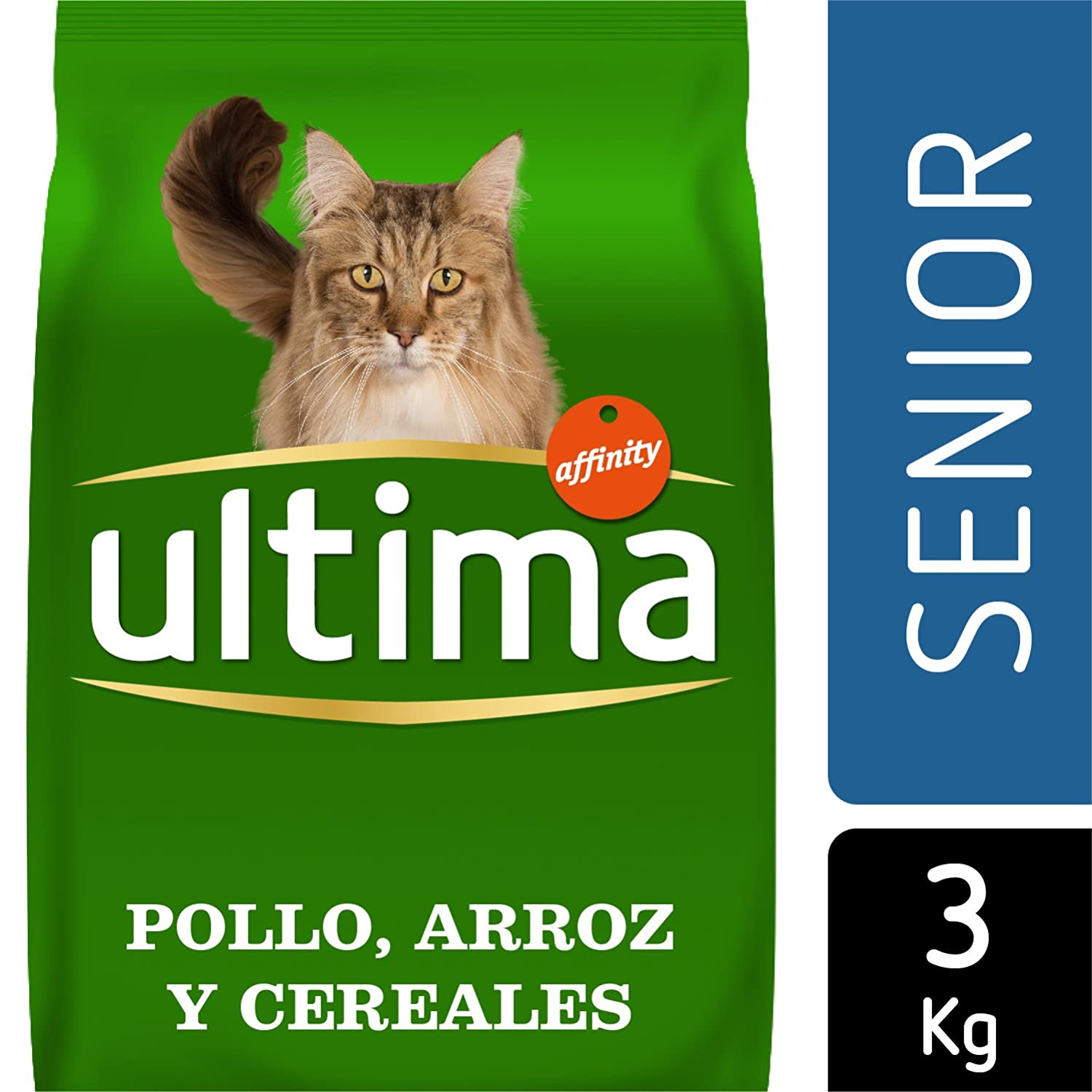 Ultima Pienso para Gatos Senior +10 años con Pollo: Amazon.es: Productos para mascotas