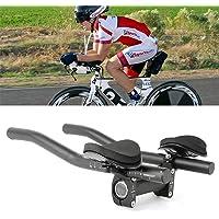 Nikavi Bicycle Armrest Handlebars Aero Bars Triathlon Time Trial Tri Cycling Rest Handlebar for Bicycle Aerobars, Moutain Bike