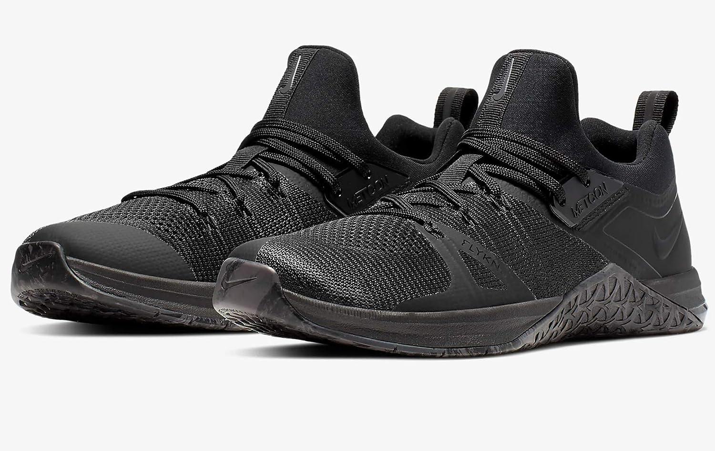 Nike Herren Metcon Flyknit 3 Fitnessschuhe Schwarz
