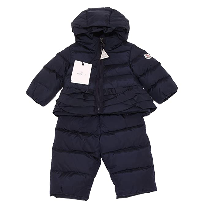 9732Q Completo sci piumino blu bimba MONCLER kids down padded snow set [6/9 MONTHS]: Amazon.es: Ropa y accesorios