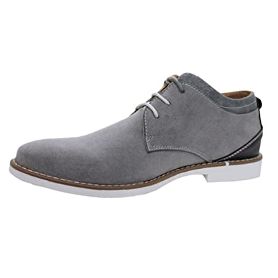 Ak Collezioni - Mocasines para hombre gris gris 40