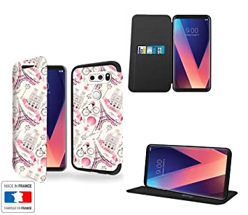 LG V30 Funda Piel Style Paris Villeroy Romantique Collection ...