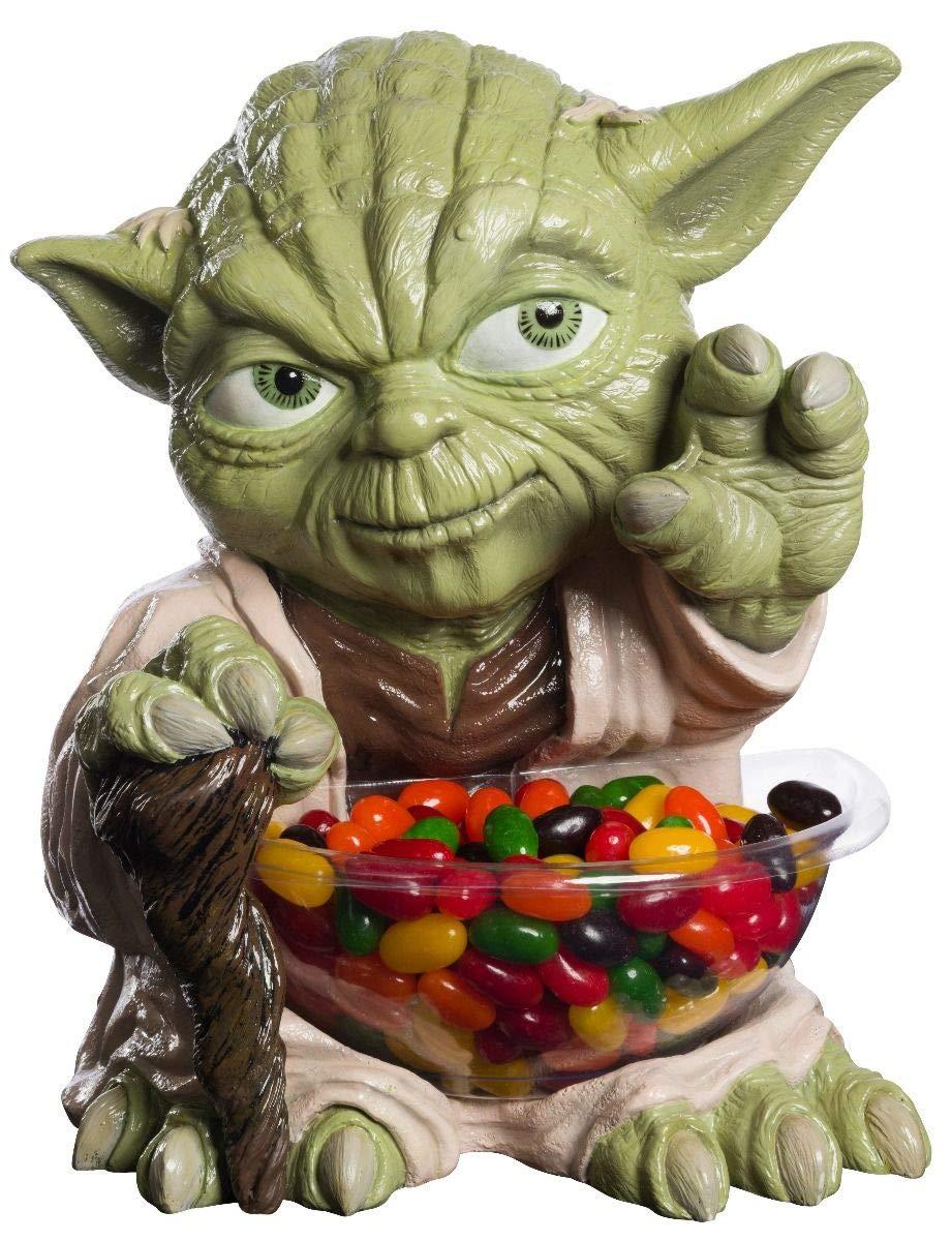 Rubies-68899 Porta Caramelos Mini Yoda, Multicolor, Talla Única ...