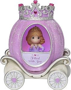 Precious Moments, Joy Princess Carriage, Resin/Vinyl LED Light-Up Figurine, 164402