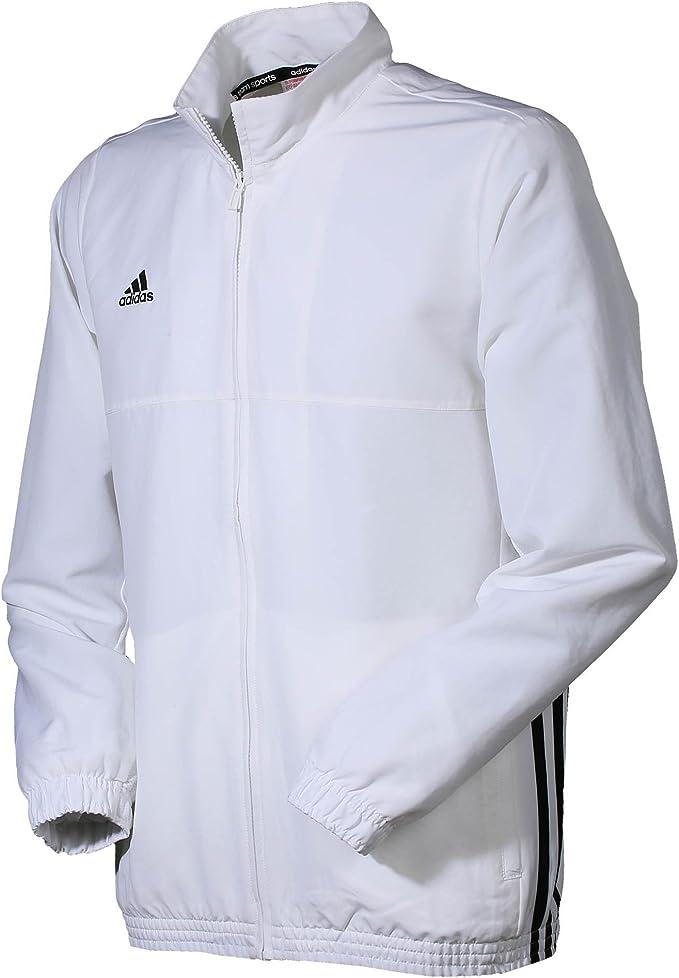 adidas Jacke T16 TEAM JKT Y, weiß, 164, AJ5325: