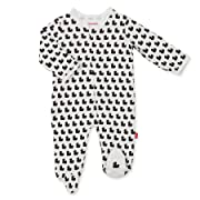 Magnificent Baby Magnetic Me 100% Organic Cotton Magnetic Footie