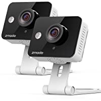 Zmodo Wireless Two-Way Audio HD Home Security Camera (2 Pack)  with Night Vision