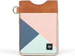 Thread Wallets - Slim Minimalist Wallet - Vertical Card Holder (Fine Line)