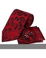 YAM1401.01 Mens Silk Tie Stripes for Husband Gift Tie Cufflinks By Y&G