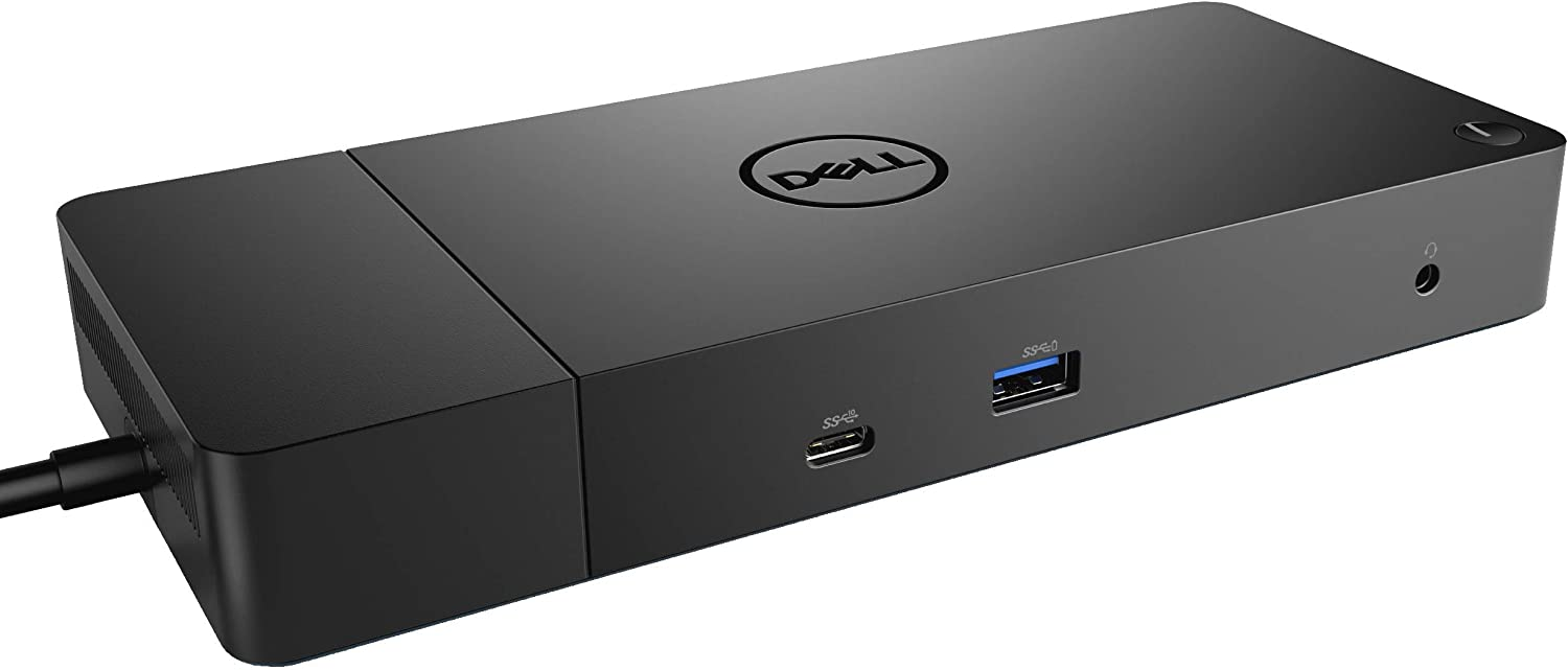 Dell WD19 180W Docking Station (130W Power Delivery) USB-C, HDMI, Dual DisplayPort, Black (Renewed)