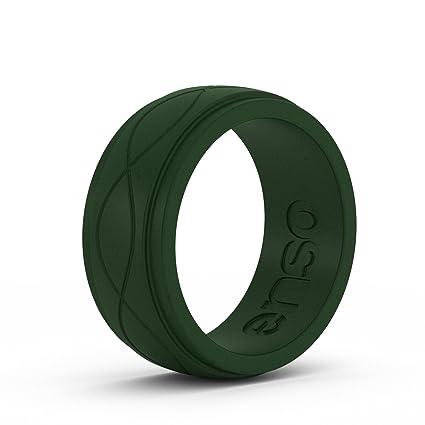 b82e8010c Amazon.com  Enso Rings Men s Infinity Silicone Ring