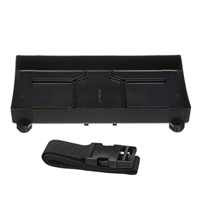 "Attwood Battery Tray- 24 Series, black, 12-3/8"" L x 7-1/8"" W, 7"" L x 11"" W : Boating Navigation Lights : Sports & Outdoors"