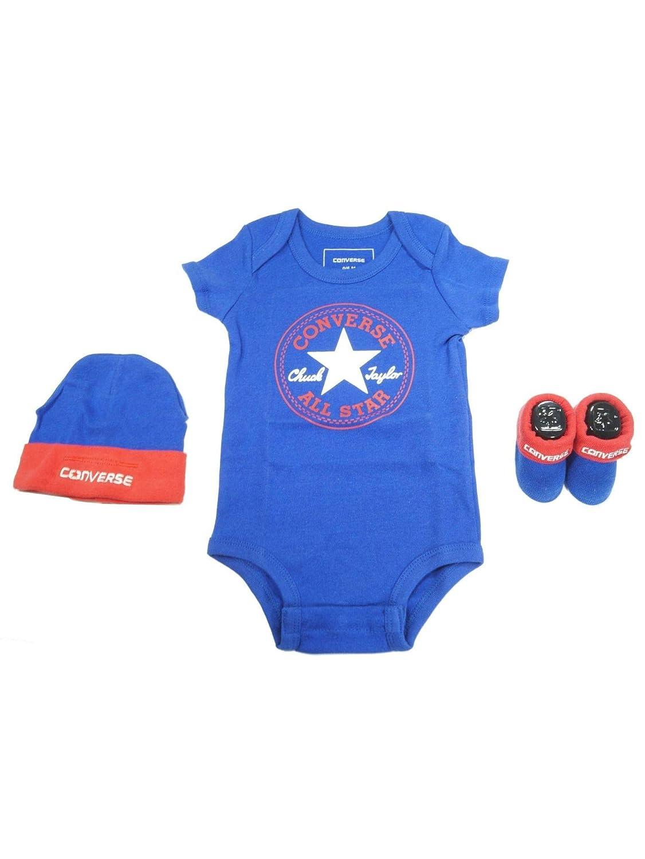 4c1bf9149b3a Converse Baby Boys 0-24m 3 Piece Clothing Set