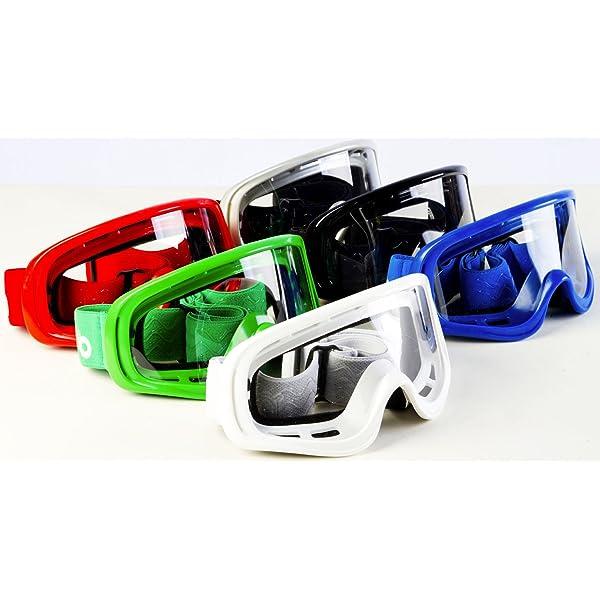 Handschuhe, Brille, Maske, 4-teiliges Set Outdoor-Jugend-Kinder-Dirt-Fahrradhelme Full Face Motocross-Offroad-Helm Four Seasons Universal TKUI Motorradhelm