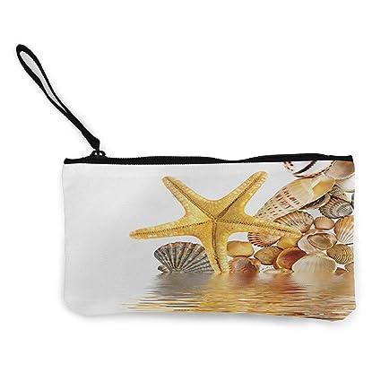 Billetera Unisex, Monederos, Starfish Unisex Canvas 3D Print ...