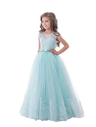 Amazon.com: Nicefashion Kids Christmas Pageant Dresses Ball Gown ...