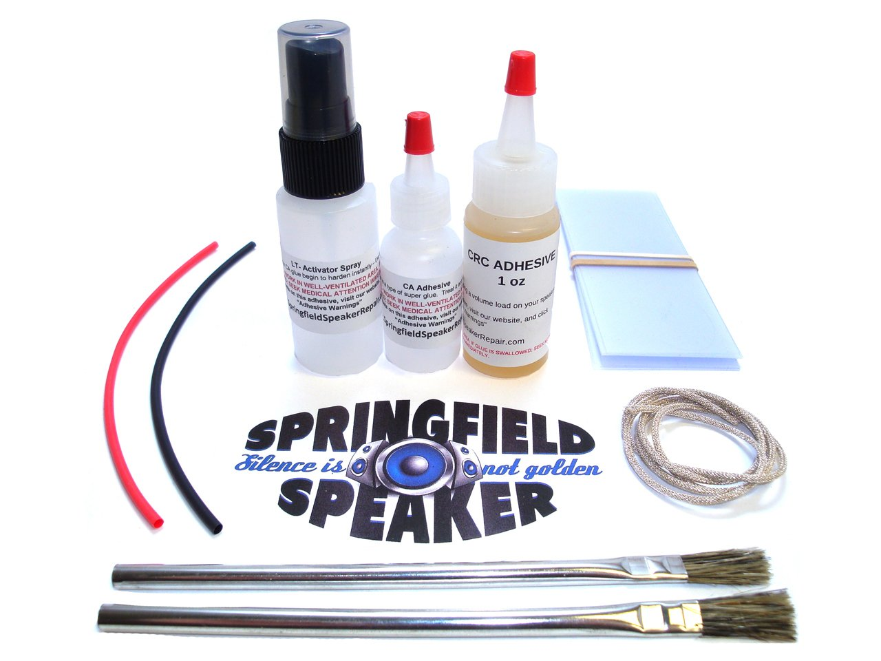 Pro Subwoofer Reconing Kit - CA Glue & Lead Wire included