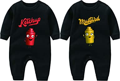 YSCULBUTOL Baby Twin Bodysuit
