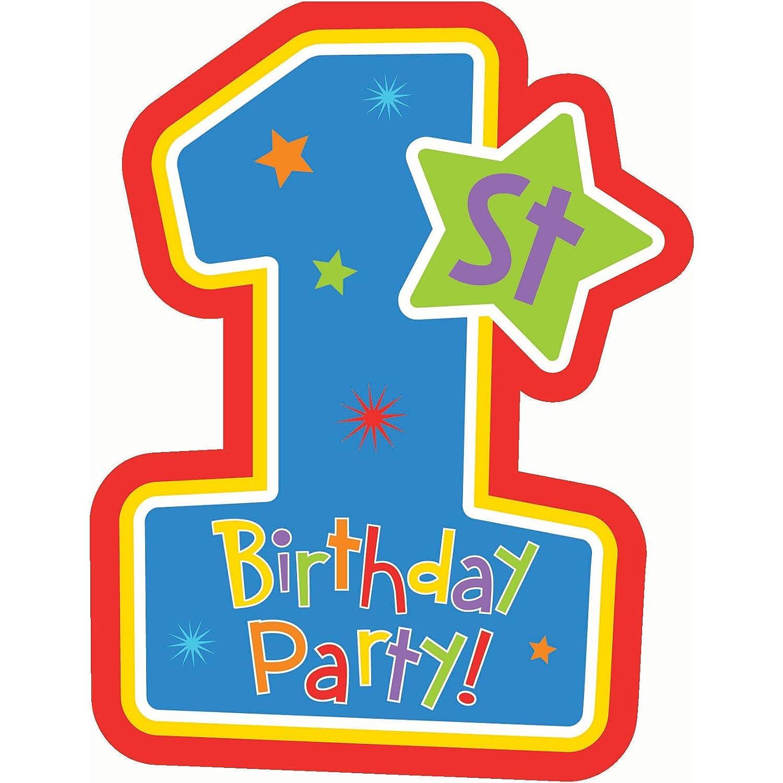 Einladungskarten 1. Geburtstag: Amazon.de: Baby