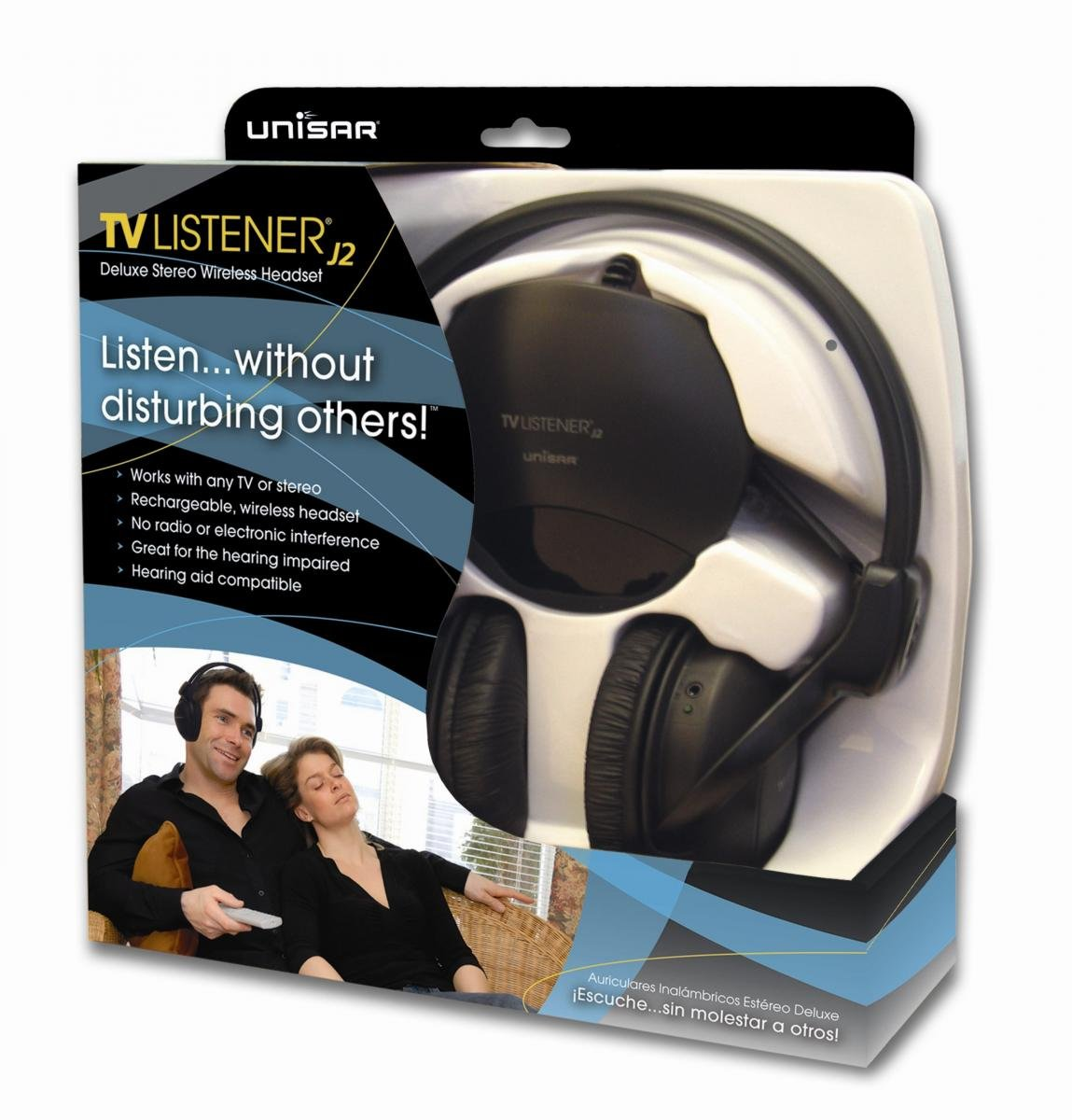 Amazon.com: BEBE SOUND TV Listener J2 Stereo Wireless Headset: Electronics