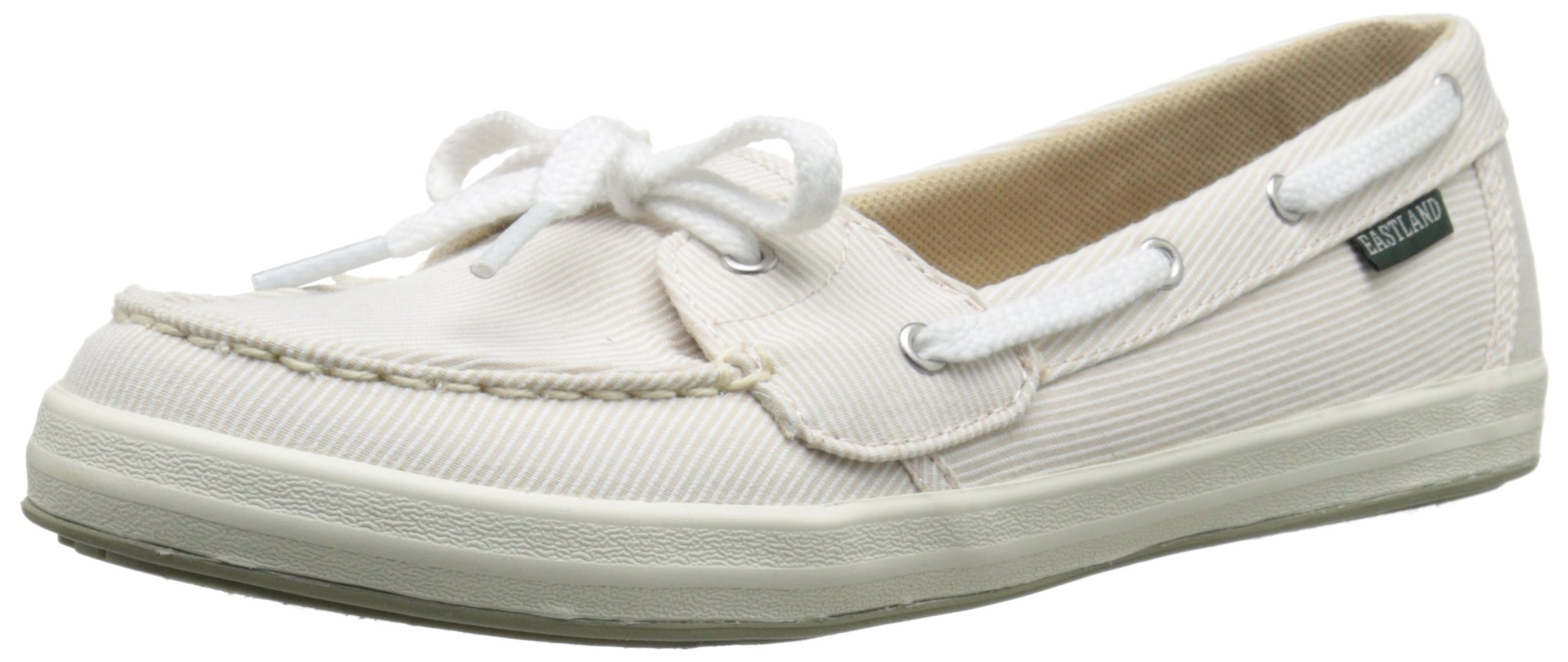 Eastland Women's Skip Boat Shoe, Camel, 9 M US by Eastland