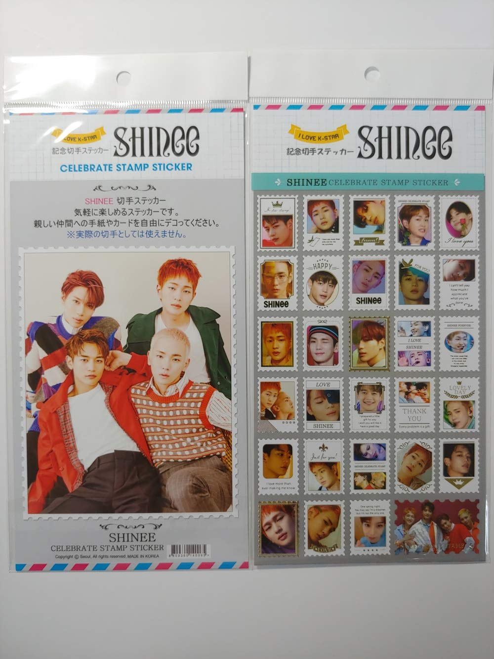 SM ENTERTAINMENT Shinee LIGHTSTICK Official + Celebrate Stamp Sticker 1ea by SM ENTERTAINMENT (Image #6)