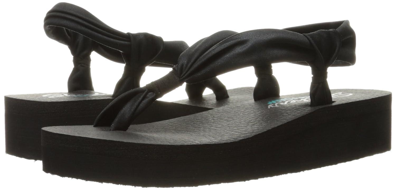 248fcbc27045 Skechers Cali Women s Vinyasa Loop-D-Loop Wedge Sandal  Buy Online at Low  Prices in India - Amazon.in