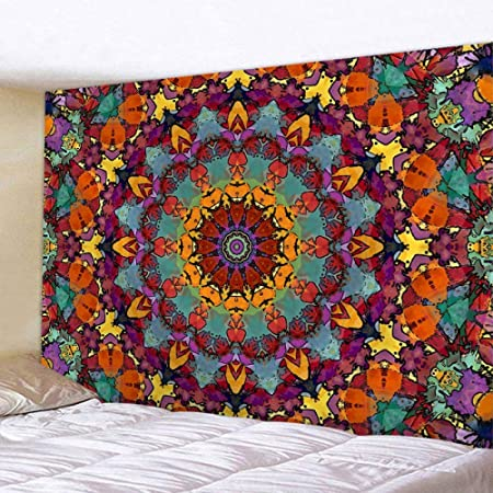 LBLFG Wall-Mounted Tapestry Home Decoration Yoga Mattress Tablecloth Bohemian Style Tapestry: Amazon.es: Hogar