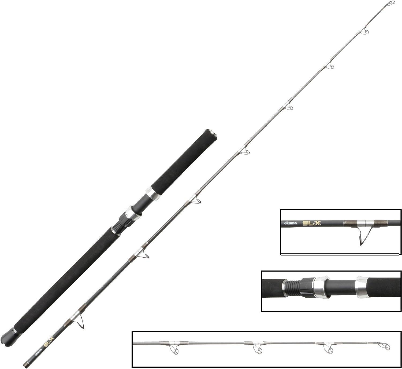 Bootsrute zum Meeresangeln Angelrute zum Pilken /& Jiggen Meeresrute f/ür Norwegen /& Island Okuma SLX Boat 198cm 20-30lbs