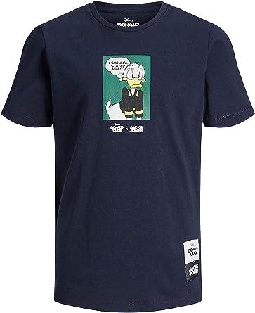 JACK&JONES 12168825 Duck tee Camisetas Y Camisa DE Tirantes Boy: Amazon.es: Ropa y accesorios