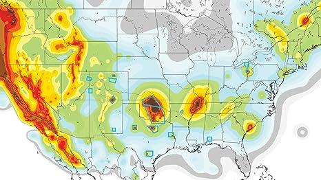 Amazon.com: Home Comforts Laminated Map - Heartland Danger ...