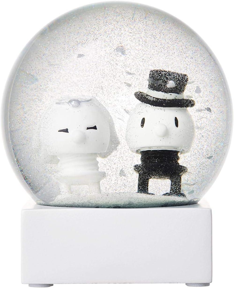 Hoptimist Wedding - Bola de Nieve con Purpurina (diámetro de 10 cm): Amazon.es: Juguetes y juegos