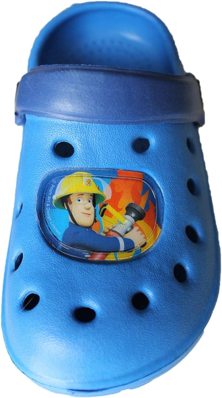 sam le pompier Fireman Sam-Beau Sabots Bleu Clair-gar/çon