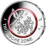 Polymer Ring Präsentationsbox Für 5 Euro Münze Münzen Münzsatz