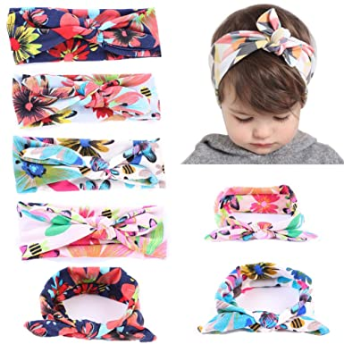 Defitck Baby Hair Accessorie Baby Headbands Apparel Girl Newest Turbans Head Wrap Knotted Hair Band (
