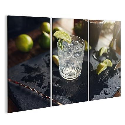 Quadro moderno Primo Piano de Gin Appena Preparato y aporte ...